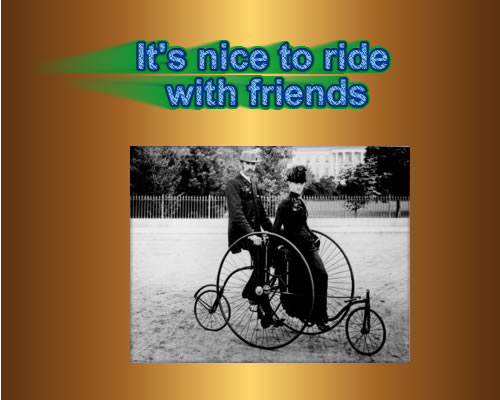 Romatic Riding Friends