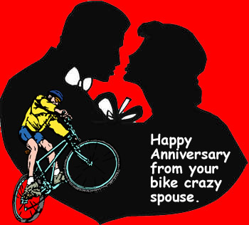 Silloutte Anniversay to Man