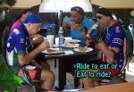 Rdie to Eat Or Eat To Ride