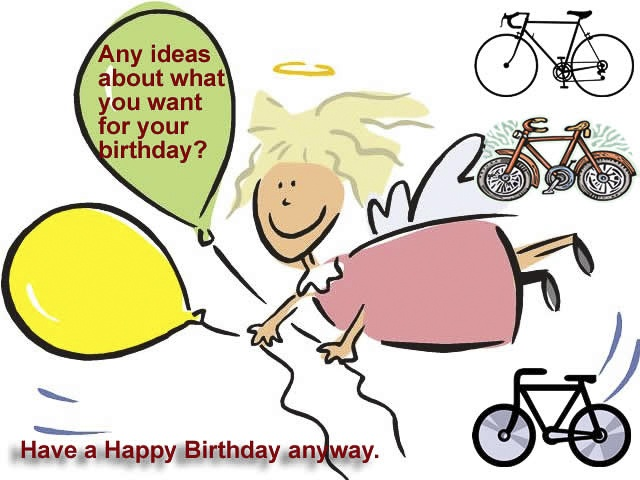 Alluring Bicycle Birthday eCards 8