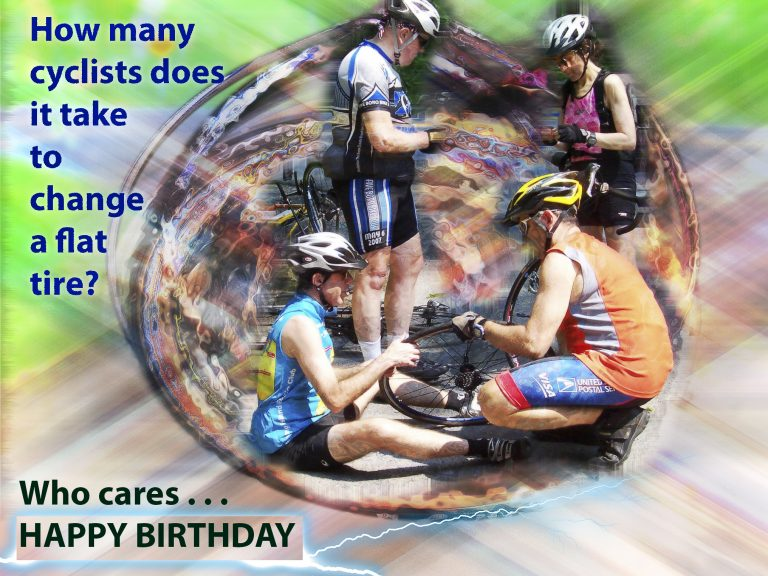 Alluring Bicycle Birthday eCards 7