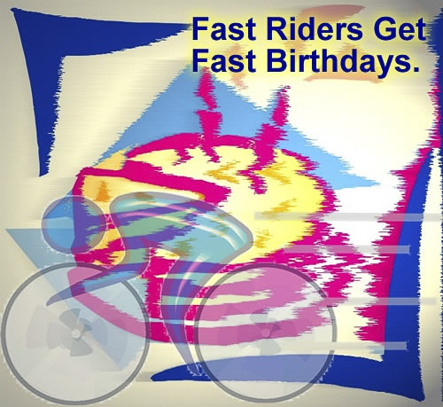 Alluring Bicycle Birthday eCards 6