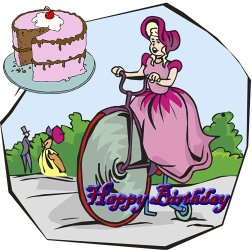 Alluring Bicycle Birthday eCards 5