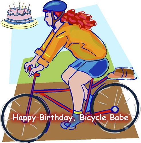 Alluring Bicycle Birthday eCards 4